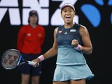 Naomi Osaka in action at the Australian Open on January 24, 2019