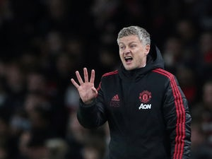 Ole Gunnar Solskjaer in charge of Manchester United on January 25, 2019