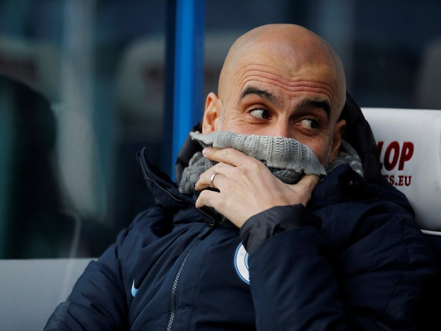 Pep Guardiola relieved over no injuries on 'dangerous' pitch