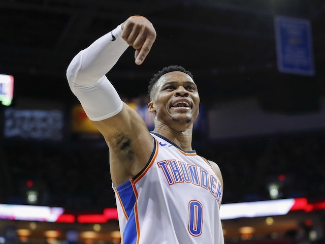 Result: George and Westbrook shine as Oklahoma Thunder beat Portland Trail Blazers
