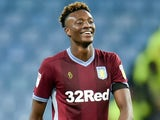 Tammy Abraham in action for Aston Villa on January 26, 2019