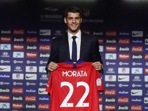 Morata delighted to be back at 'childhood team' Atletico