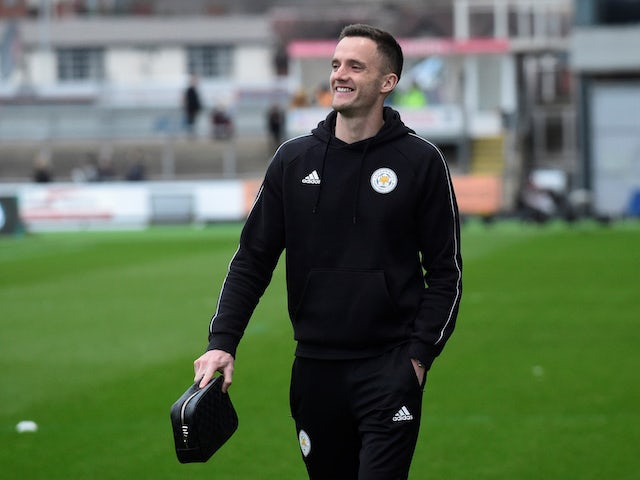 Leicester City's Andy King pictured on January 6, 2019
