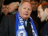 Peterborough United's Barry Fry pictured in January 2018