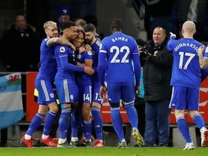 Reid double helps Cardiff salute Sala with win