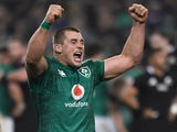 Ireland's CJ Stander celebrates in November 2018