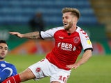 Conor McAleny in action for Fleetwood Town on August 28, 2018