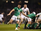 Ireland scrum-half Conor Murray in action against England during the Six Nations on February 2, 2019