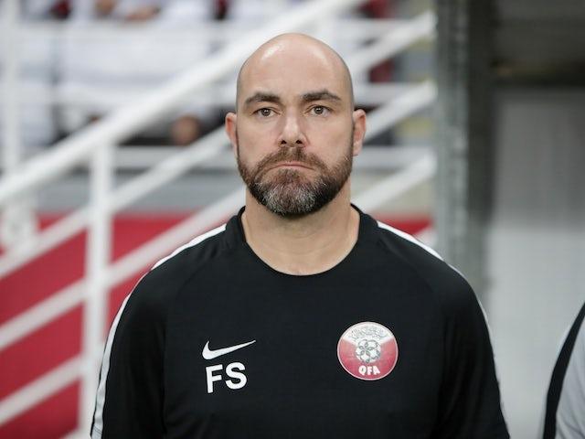 Qatar boss Felix Sanchez silent as players decline to take a knee