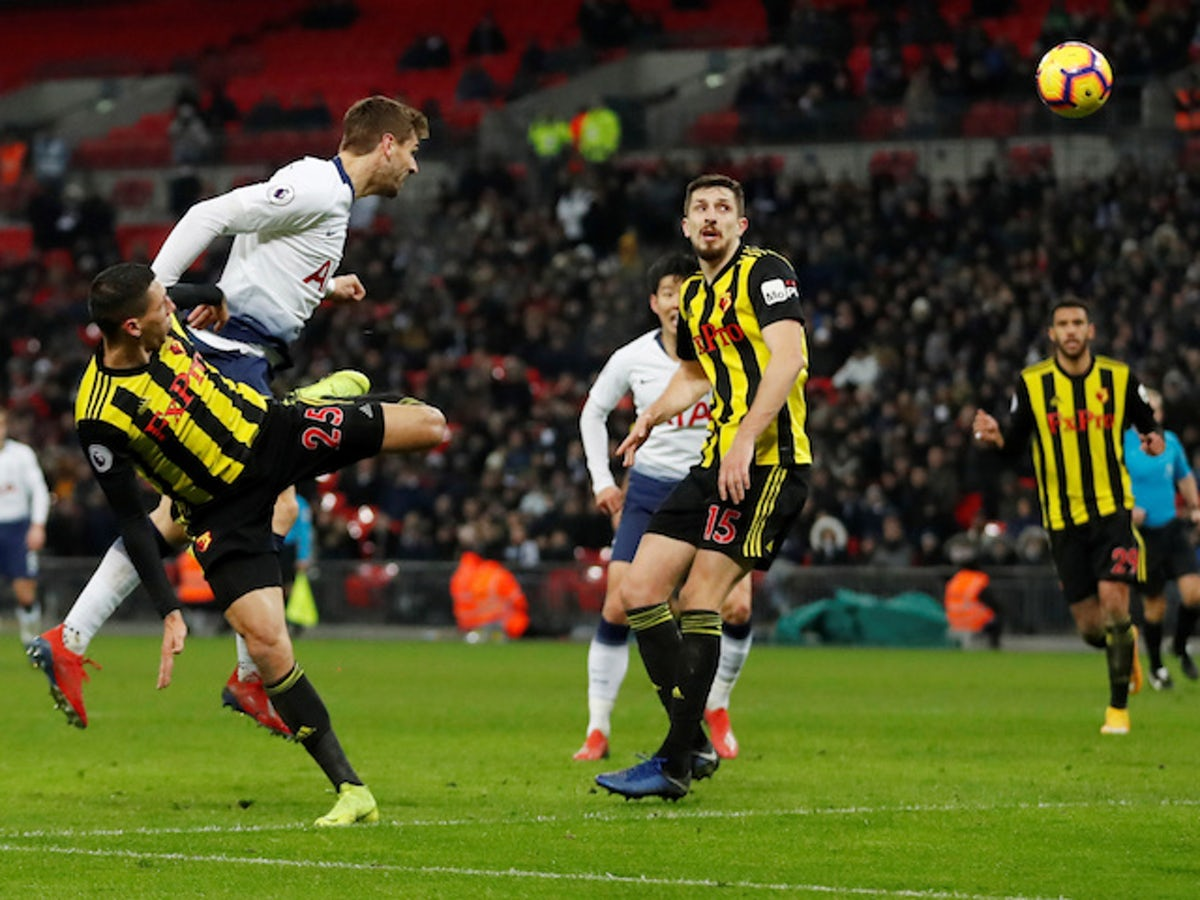Live Commentary Tottenham Hotspur 2 1 Watford As It Happened Sports Mole