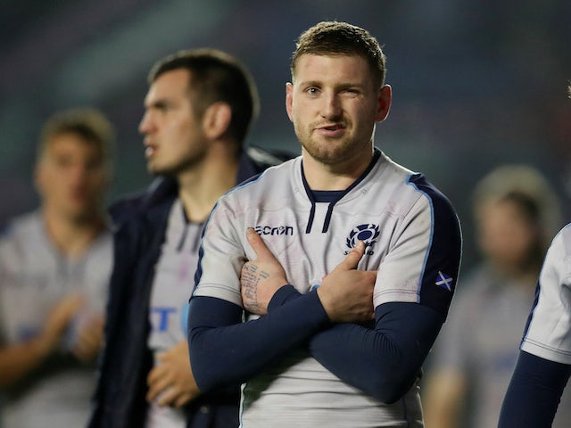 Scotland hopeful to have Finn Russell against France