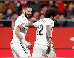 Real Madrid injury, suspension list vs. Villarreal