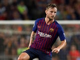 Barcelona midfielder Ivan Rakitic pictured in September 2018