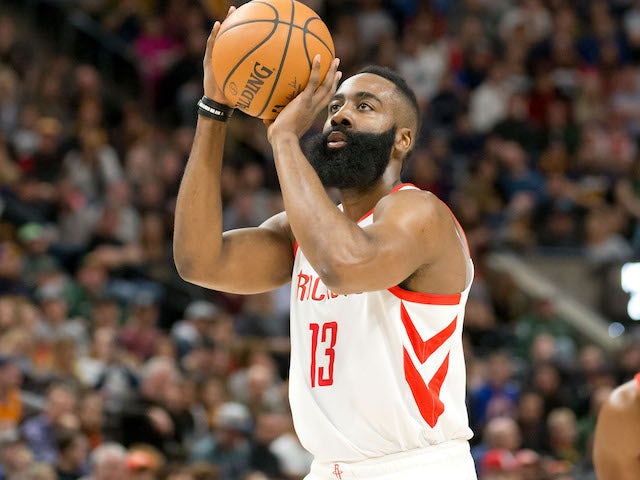 Result: James Harden puts in another fine performance for Houston Rockets