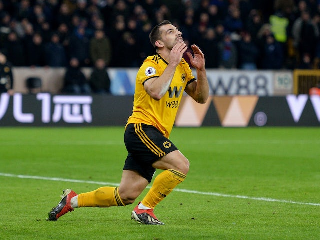 Jonny Castro in action for Wolverhampton Wanderers on January 29, 2019