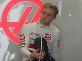 Kevin Magnussen pictured on November 10, 2018