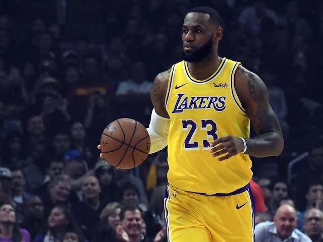 Result: LeBron stars on return from injury