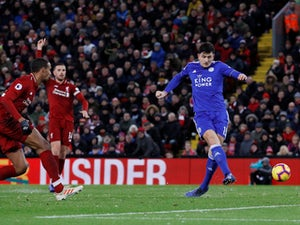 Title-chasing Liverpool held at home by Leicester