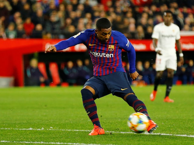 Arsenal trying to hijack Everton's Malcom bid?