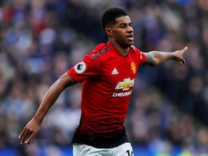 Marcus Rashford's record vs. Liverpool