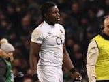 England's Maro Itoje walks off injured on February 2, 2019