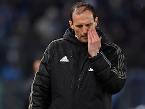 Juventus manager Massimiliano Allegri pictured on January 27, 2019