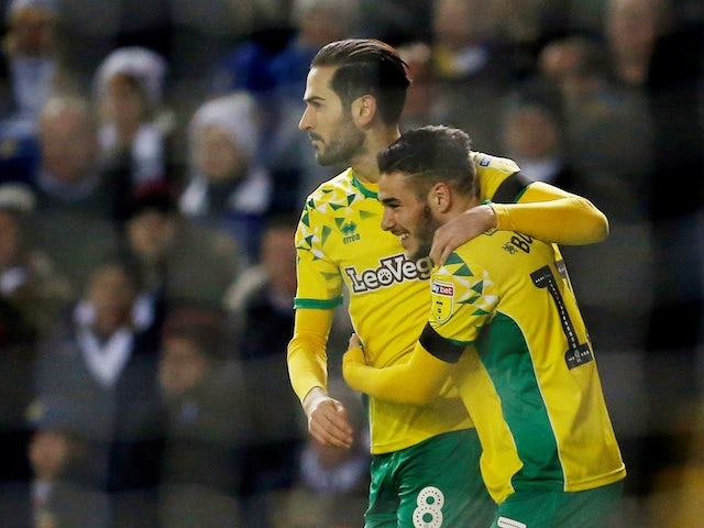 Result: Norwich beat title rivals Leeds to move to top of Championship