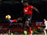 Paul Pogba in action for Manchester United on January 29, 2019