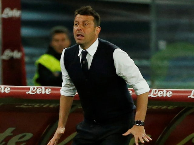Parma boss Roberto D'Aversa pictured in September 2018