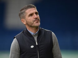 Bury manager Ryan Lowe pictured in December 2018