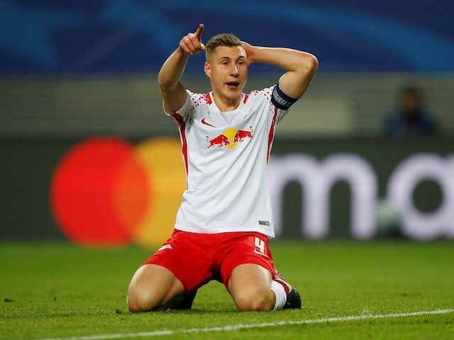 Result: Willi Orban at the double as RB Leipzig ease past Hannover