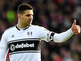 Fulham striker Aleksandar Mitrovic in action during his side's Premier League clash with Manchester United on February 9, 2019
