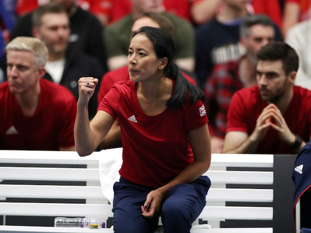 "Keothavong left ""ecstastic"" after Fed Cup win"