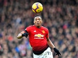 Manchester United forward Anthony Martial in action during his side's Premier League clash with Fulham on February 9, 2019