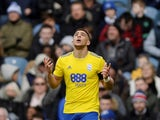 Birmingham City's Che Adams celebrates after scoring against QPR on February 9, 2019