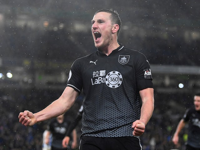 Result: Chris Wood double helps Burnley sink out-of-sorts Brighton