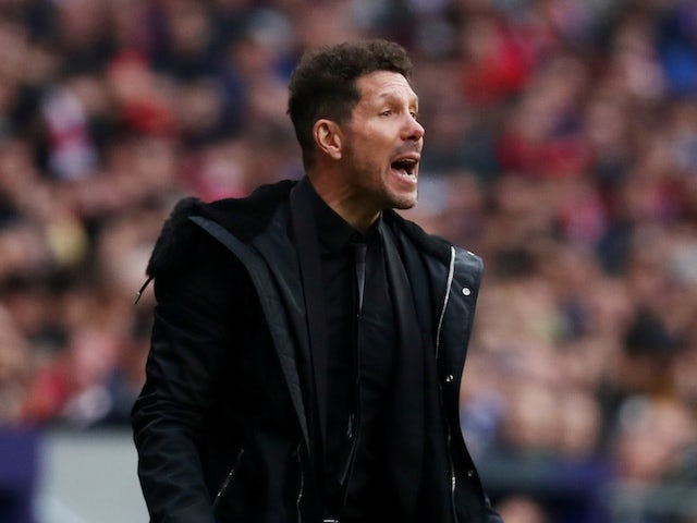 Simeone admits best side won after derby defeat to Real Madrid