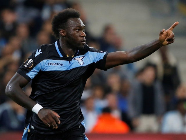 Lazio's Felipe Caicedo pictured in October 2018