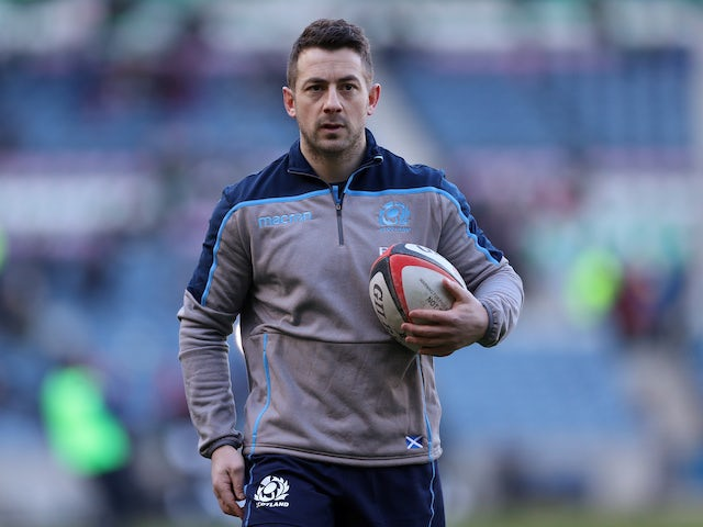 Greig Laidlaw delighted with Scotland response against France