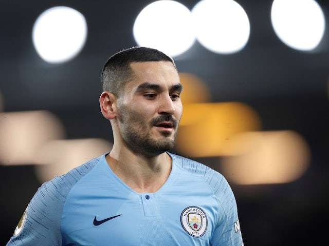 Gundogan 'stops Man City contract talks'