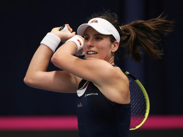 Result: Johanna Konta beaten in Morocco Open final