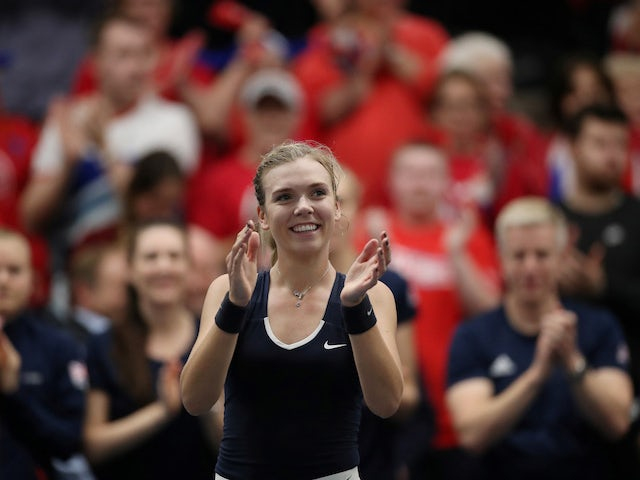 Greece furious with line calls after Great Britain continue fine Fed Cup form