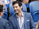 Mark Webber pictured at the Aussie Open on January 27, 2019