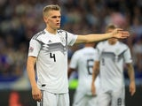Matthias Ginter in action for Germany in October 2018