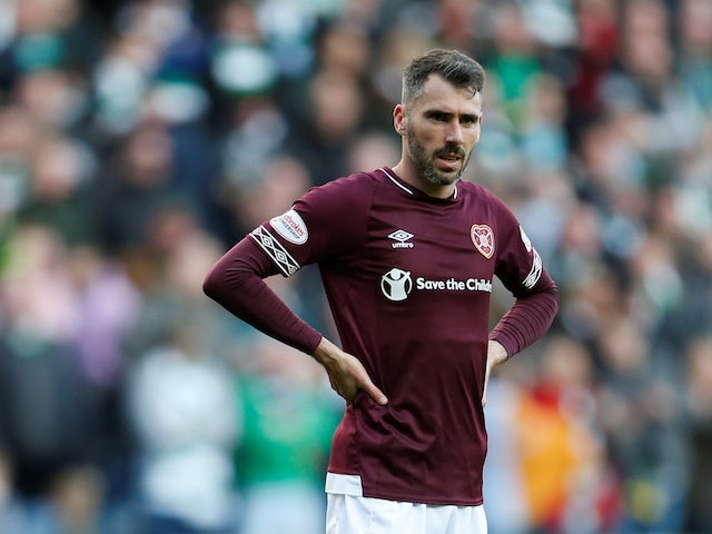 Team News: Michael Smith back in training for Hearts