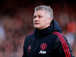 Manchester United manager Ole Gunnar Solskjaer watches on during his side's Premier League clash with Fulham on February 9, 2019