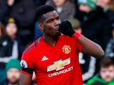 Manchester United midfielder Paul Pogba in action during his side's Premier League clash with Fulham on February 9, 2019