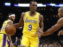 Rajon Rondo in action for LA Lakers on February 7, 2019