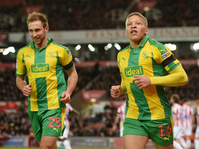 Result: Dwight Gayle header earns West Brom victory at Stoke