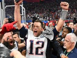 Tom Brady celebrates winning the Super Bowl again on February 3, 2019
